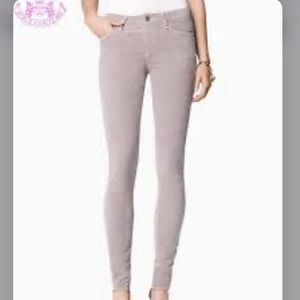 Juicy Couture Corduroy Gray Skinny Pants